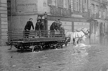 1910 paris sous les eaux water words - Prefecture de police porte de clignancourt ...